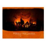 Halloween mira al trasluz 1 - feliz Halloween Postal