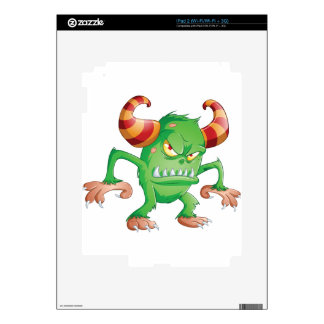 Halloween Monster 3 Decal For The iPad 2