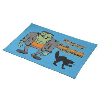 Halloween Monster - Black Cat  Placemats