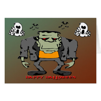 Halloween Monster Card