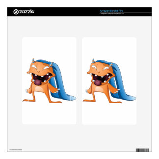 Halloween Monster Decals For Kindle Fire
