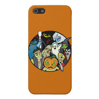 Halloween Monster Group iPhone SE/5/5s Case