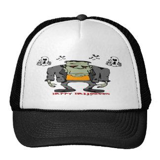 Halloween Monster Trucker Hat