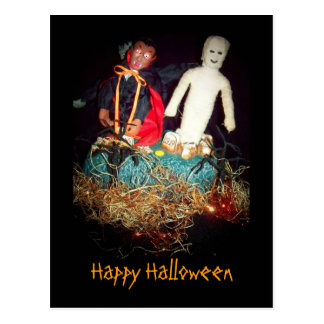 Halloween Monster Mash Postcard Post Card
