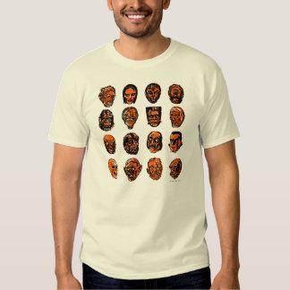 Halloween Monster Masks T-Shirt