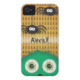Halloween Monster Spiders iPhone 4S Case-Mate Case