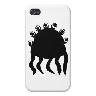 Halloween Monsters 1100002 iPhone 4 Cover
