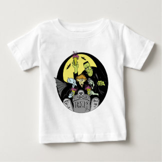 Halloween Monsters Baby Shirt