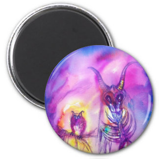 HALLOWEEN MONSTERS / ORC WAR 2 INCH ROUND MAGNET