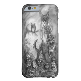 HALLOWEEN MONSTERS / ORC WAR Black White Fantasy Barely There iPhone 6 Case