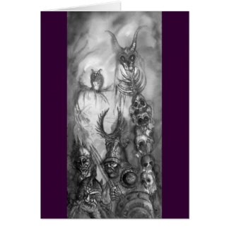 HALLOWEEN MONSTERS / ORC WAR CARD
