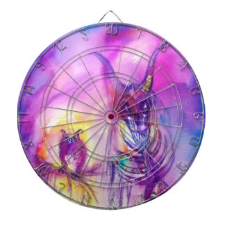 HALLOWEEN MONSTERS / ORC WAR DARTBOARD WITH DARTS