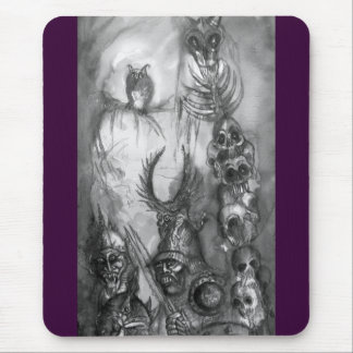 HALLOWEEN MONSTERS / ORC WAR MOUSE PAD