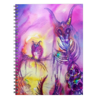 HALLOWEEN MONSTERS ORC WAR SPIRAL NOTE BOOK