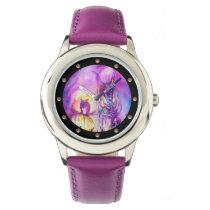 HALLOWEEN MONSTERS / ORC WAR Purple Fantasy Wrist Watch
