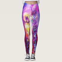 HALLOWEEN MONSTERS / ORC WAR Purple Leggings