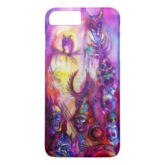HALLOWEEN MONSTERS / ORC WAR Red Purple Fantasy iPhone 8 Plus/7 Plus Case