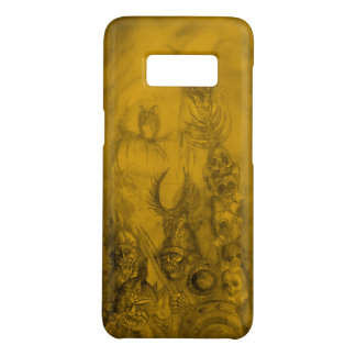 HALLOWEEN MONSTERS / ORC WAR Yellow Fantasy Case-Mate Samsung Galaxy S8 Case