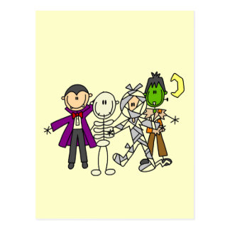 Halloween Monsters Tshirts and Gifts Postcard