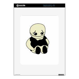 Halloween - monstruo triste iPad calcomanías