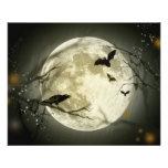 """Halloween Moon 4.5"""" X 5.6"""" Flyer"""