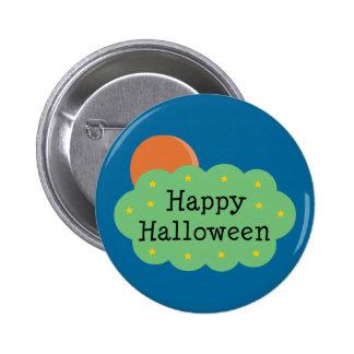 Halloween Moon Buttons