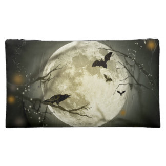 Halloween moon - full moon illustration cosmetic bag