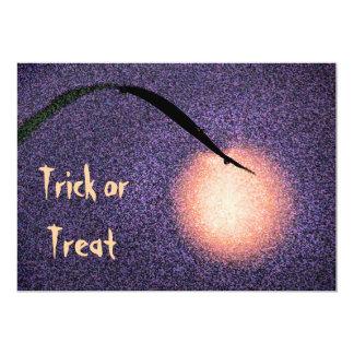 Halloween Moon Invitation