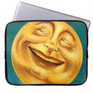 Halloween Moon Laptop Sleeves