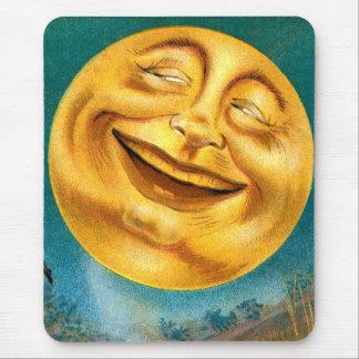 Halloween Moon Mouse Pad