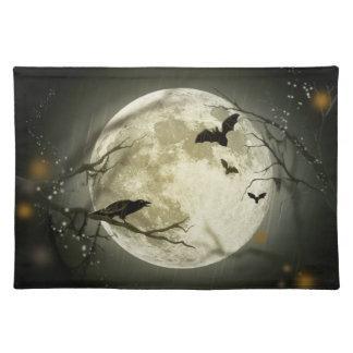 Halloween Moon Place Mat