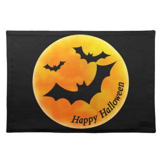 Halloween Moon Placemats