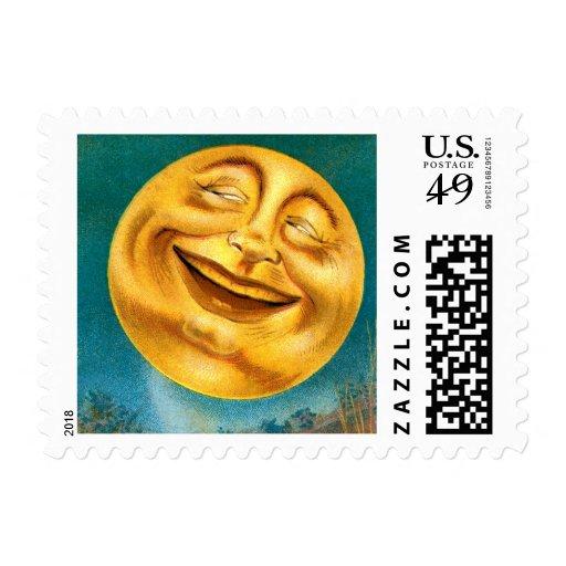 Halloween Moon Stamp