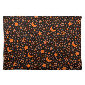 Halloween Moon & Stars Placemat