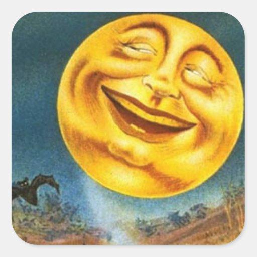 Halloween Moon - Sticker
