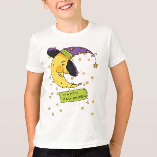Halloween Moon T Shirt - Happy Halloween