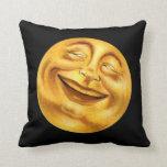 Halloween Moon Throw Pillow