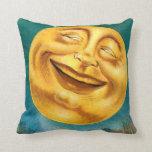 Halloween Moon Throw Pillows