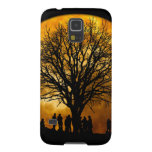 Halloween moon - zombie tree - moon tree galaxy s5 case