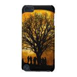 Halloween moon - zombie tree - moon tree iPod touch 5G case