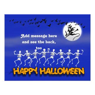 Halloween Moonlit Party Scene Flyer