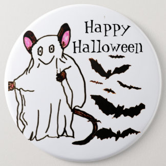 HALLOWEEN MOUSE GHOST button