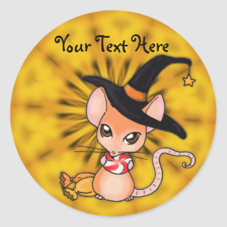 Halloween Mouse Stickers