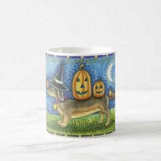Halloween Mug with Dachshund