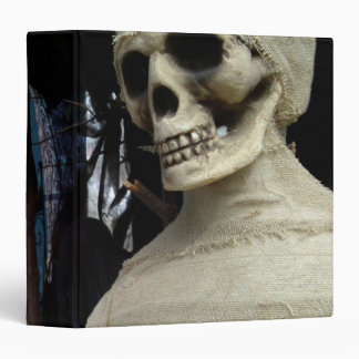 Halloween Mummy and Spooky House 3 Ring Binder