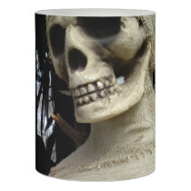 Halloween Mummy and Spooky House Flameless Candle