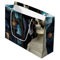 Halloween Mummy and Spooky House Large Gift Bag