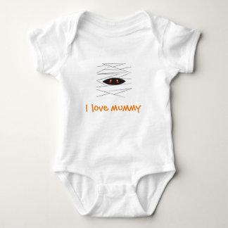 Halloween Mummy Baby Bodysuit