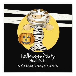 Halloween Mummy Card