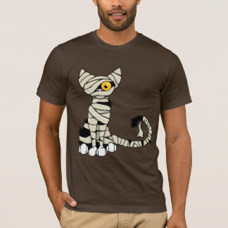 Halloween Mummy Cat T-Shirt